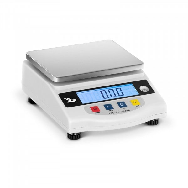 Precíziós mérleg 2000 g / 0,01 g - LCD