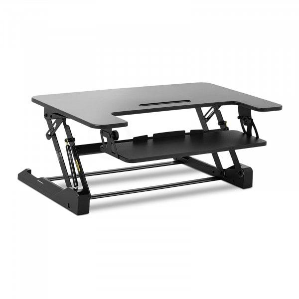 B-termék Íróasztal kiegészítő elem - 8-fokozatban állítható magasság - 16,5 - 41,5 cm