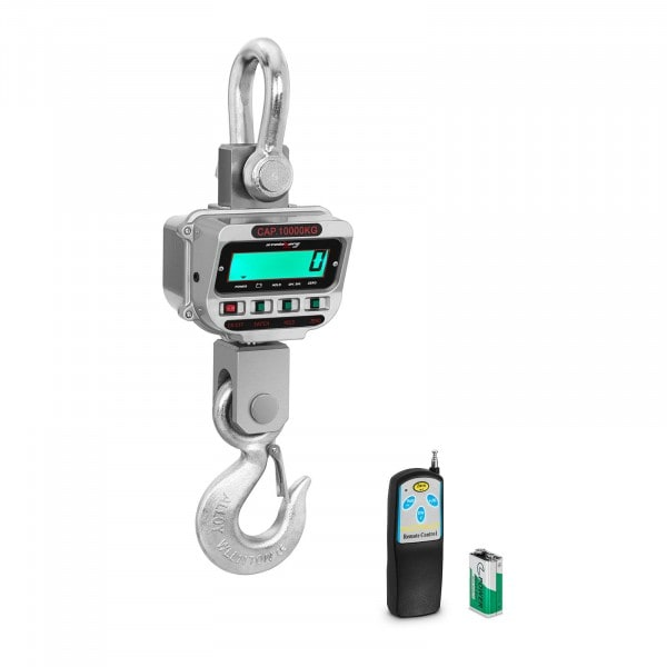 Darumérleg - 10 t / 2 kg - LCD