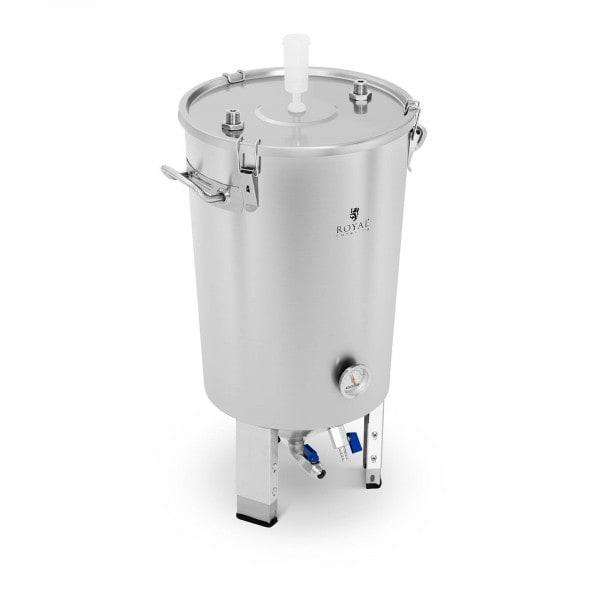 B-termék Fermentáló edény - 30 L - beépített hűtőrendszerrel