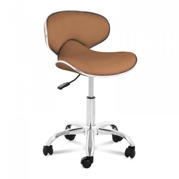 B-termék Gurulós szék háttámlával PHYSA MUNICH CAPPUCCINO