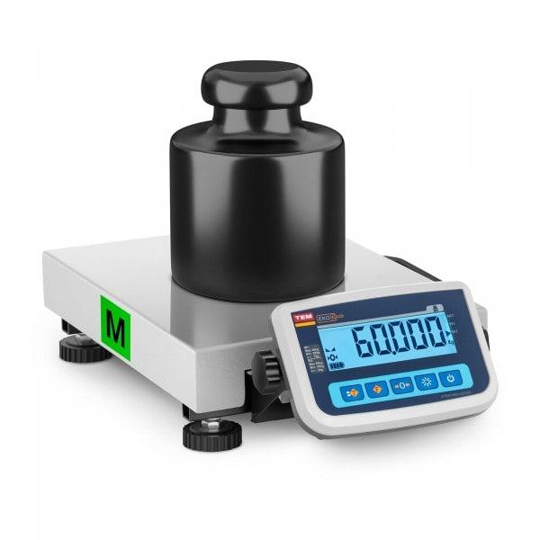 B-termék Csomagmérleg - hitelesített - 60 kg / 20 g
