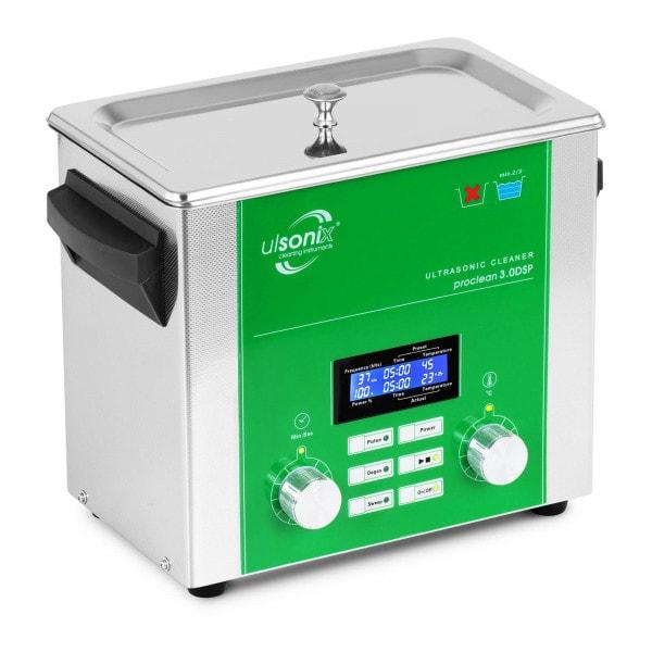Ultrahangos tisztító - 3 liter - Degas - Sweep - Pulse