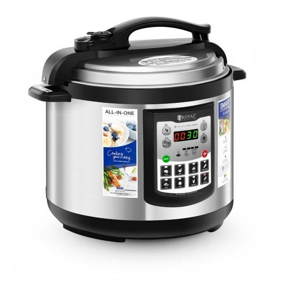 B-termék Multifunkcionális főzőedény - 6 liter - 1.000 W