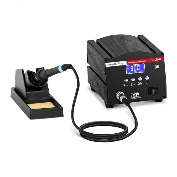 B-termék Forrasztóállomás - digitális - forrasztópákával és forrasztópáka tartóval - 150 W - LCD