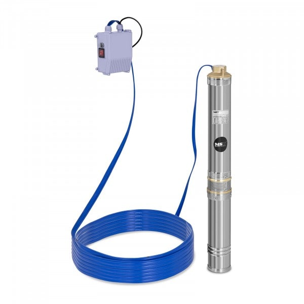 B-WARE Búvárszivattyú- 6.000 liter/óra - 550 W - rozsdamentes acél