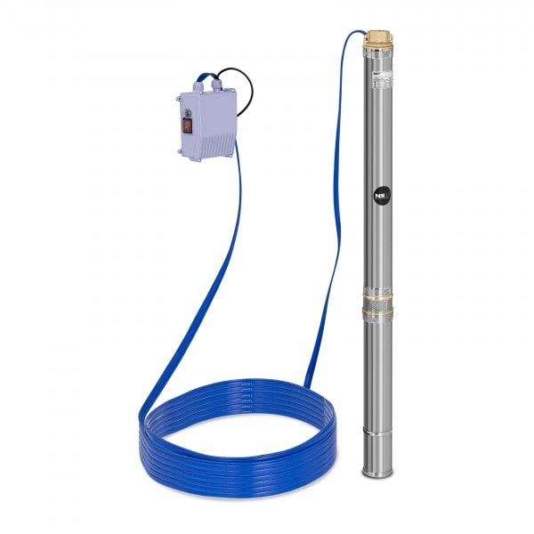 B-termék Búvárszivattyú- 3.800 liter/óra - 550 W - rozsdamentes acél