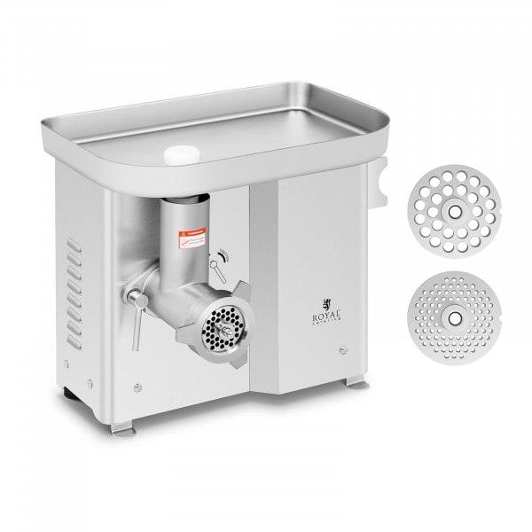 B-termék Húsdaráló - rozsdamentes acél - 150 kg/h - kése visszaforgatható