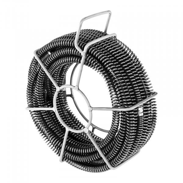 Lefolyótisztitó spirál csomag - 6 x 2,45 m - Ø 16 mm