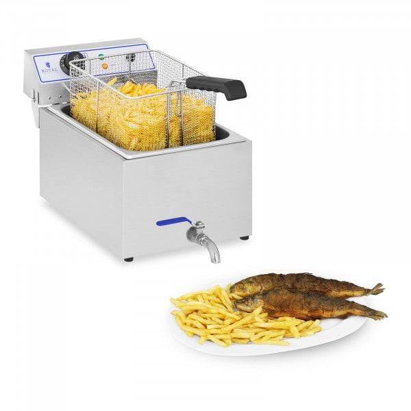 B-termék Elektromos fritőz - 1 x 17 liter - halakhoz