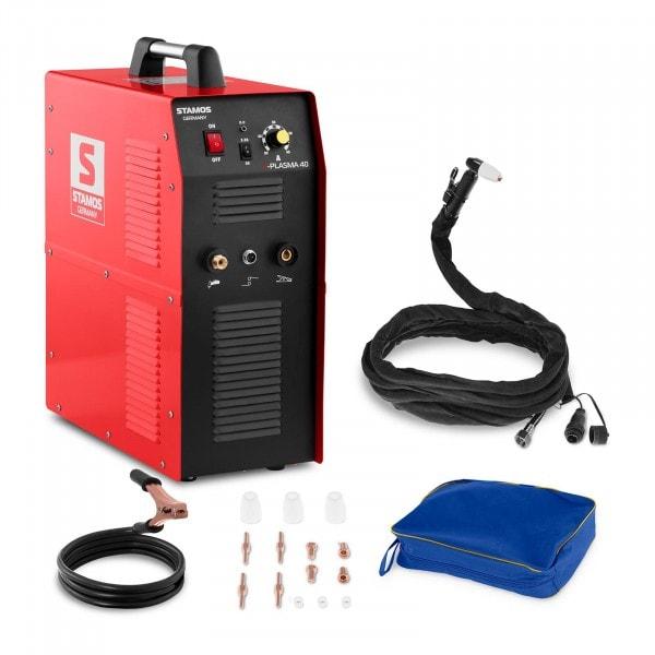 Plazmavágó - 40 A - 230 V - Integrált légkompresszor