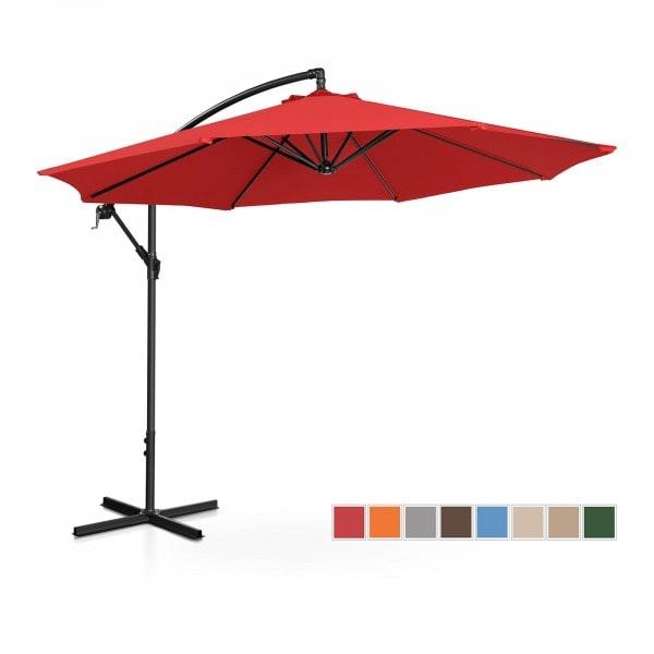B-termék Lámpa formájú napernyő - piros - kerek - Ø 300 cm - dönthető