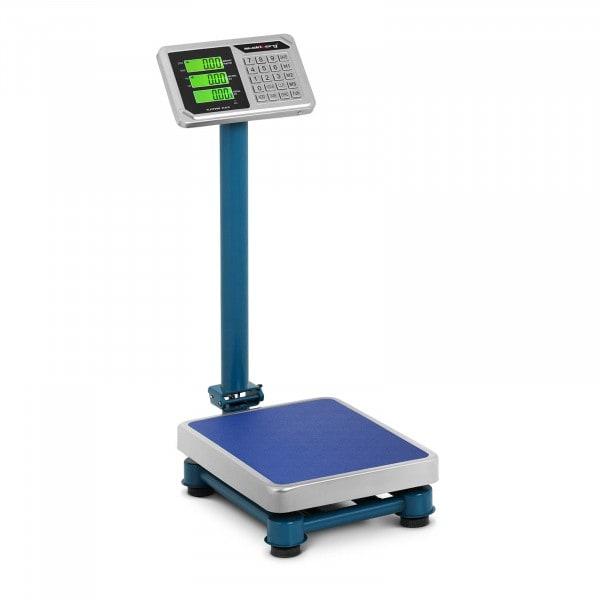 B-termék Platform mérleg - 100 kg / 20 g - 40 x 30 cm - LCD - nemesacél