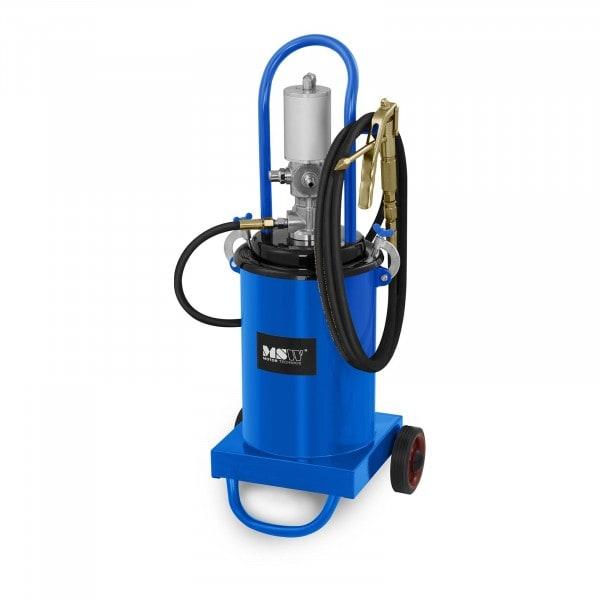 B-termék Pneumatikus zsírzópumpa - 12 liter - szállítható - 240-320 bar pumpanyomás