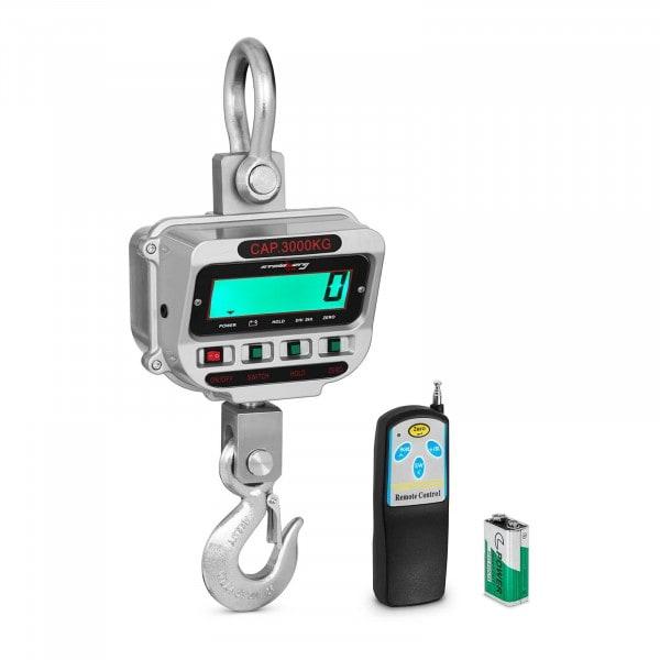 Darumérleg - 3 t / 0,5 kg - LCD