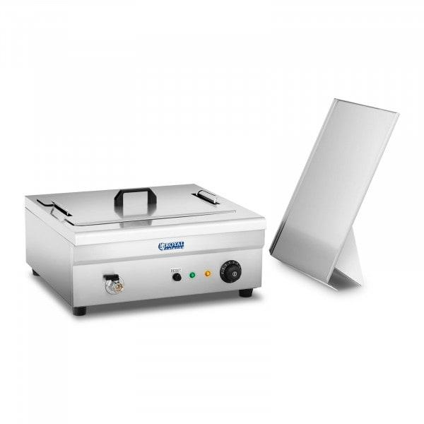 B-termék Ipari olajsütő - 18 liter - 3.200 W - hideg zónás technológia