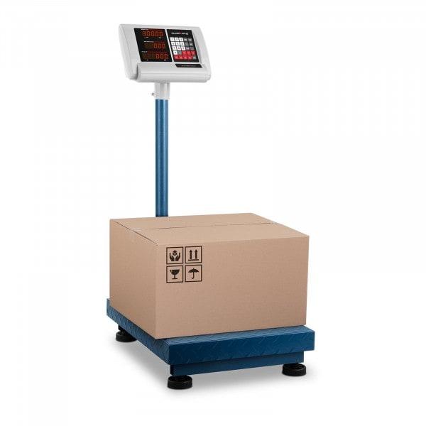 B-termék Platform mérleg - 300 kg / 50 g - 40 x 50 cm - kompakt