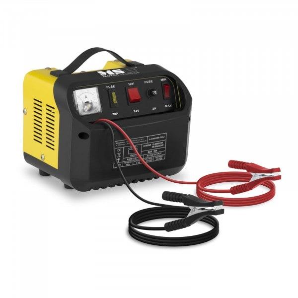 B-termék Akkumulátor töltő -- 12/24 V - 8/12 A - ferde vezérlőpanel