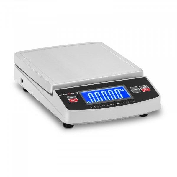 B-termék Digitális asztali mérleg - 600 g / 0,1 g - 14,8 x 15,2 cm - LCD