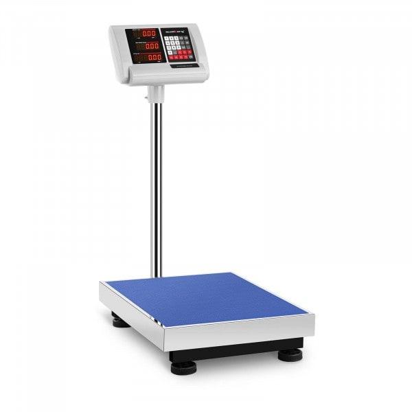B-termék Platform mérleg - 150 kg / 10 g - 50 x 40 cm