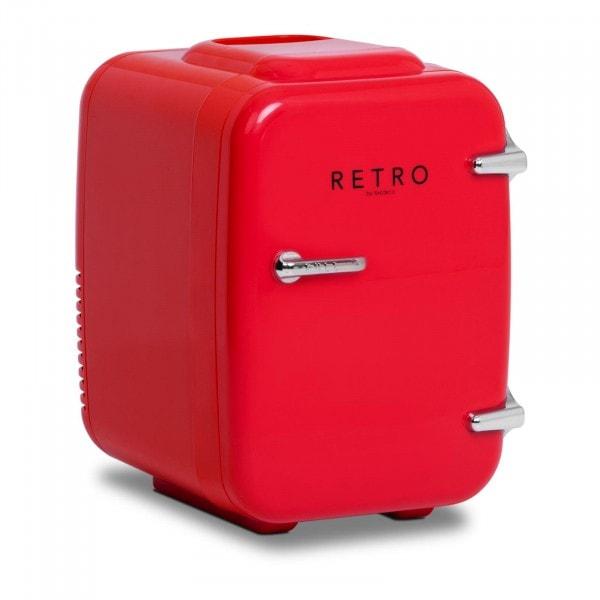 B-termék Minihűtő - 4 l - piros