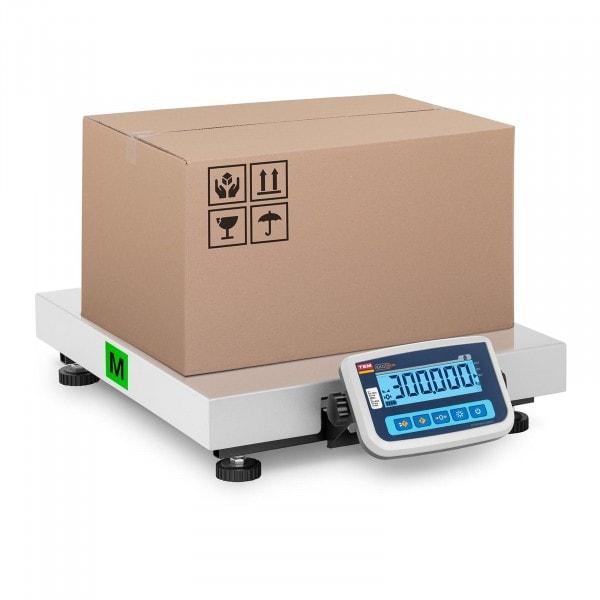 B-termék Csomagmérleg - hitelesített - 300 kg / 100 g - 60 x 50 cm