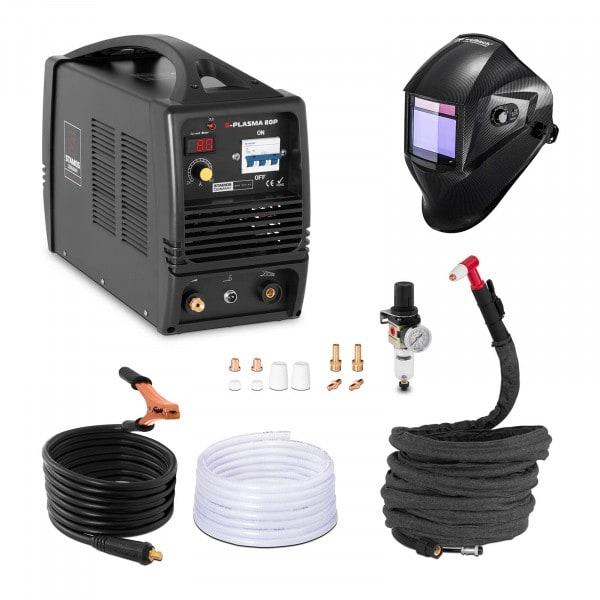 Hegesztő készlet Plazmavágó - 80 A - 400 V + Hegesztő sisak – Carbonic – PROFESSIONAL SERIES