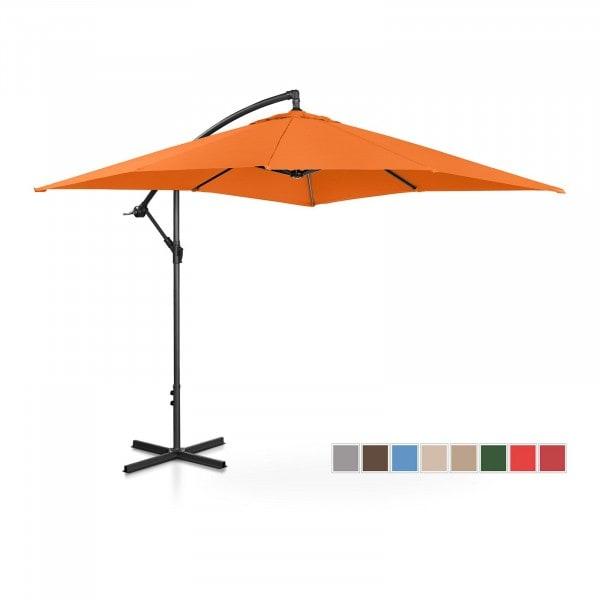 B-termék Lámpa formájú napernyő - narancssárga - szögletes - 250 x 250 cm - dönthető