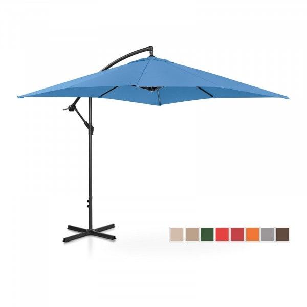 B-termék Lámpa formájú napernyő - kék - szögletes - 250 x 250 cm - dönthető