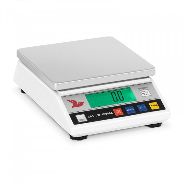 B-WARE Precíziós mérleg - 10.000 g / 0,1 g