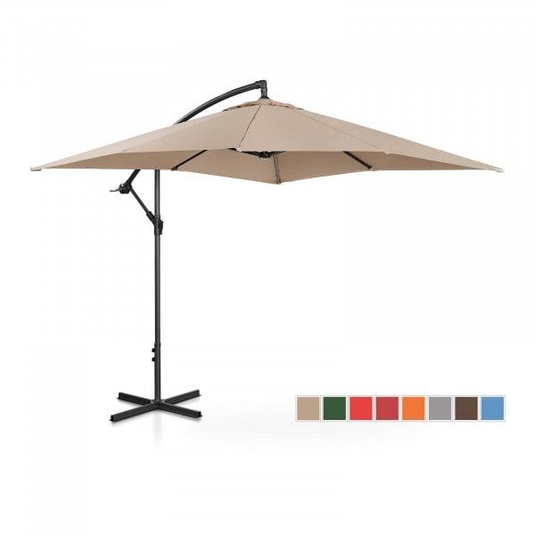 B-termék Lámpa formájú napernyő - krémszínű - szögletes - 250 x 250 cm - dönthető