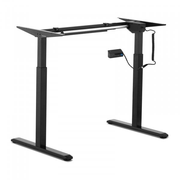 B-termék Állítható magasságú asztal keret - 200 W - 80 kg - fekete