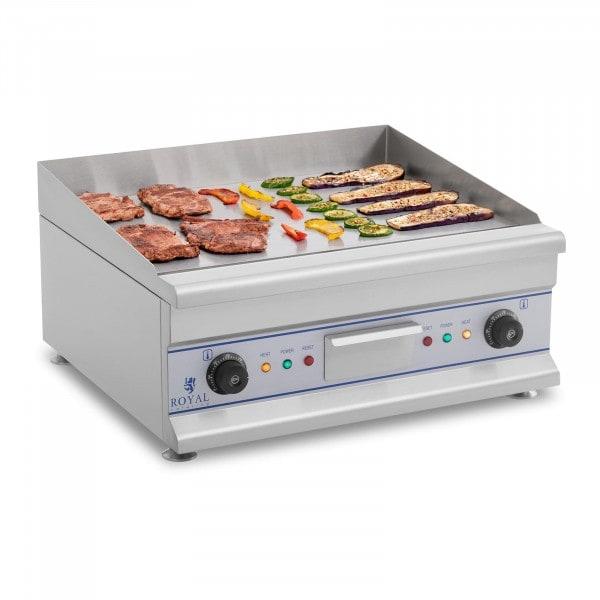 B-termék Elektromos grill - 60 cm - sima felületes- 2 x 3,2 kW