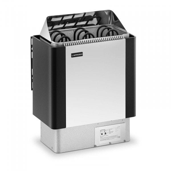 B-termék Szaunakályha - 4,5 kW - 30 - 110 °C - nemesacél takaró