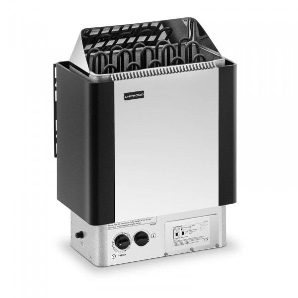 B-termék Szauna kályha - 9 kW - 30 - 110 °C - vezérlőegységgel