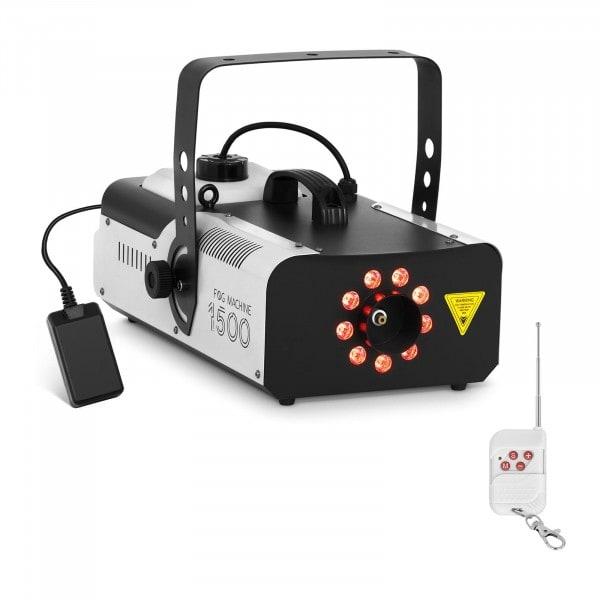 B-termék Ködgép - LED 9 x 3 W - 1.500 W - 566 m3/perc