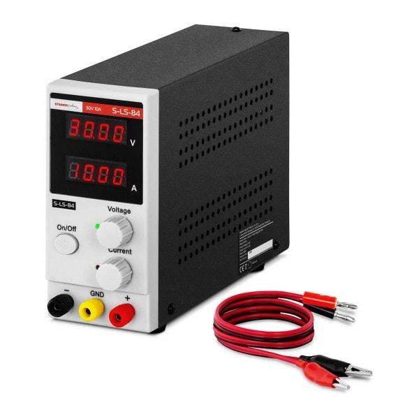 B-termék Laboratóriumi tápegység - 0-30 V - 0-10 A DC - 300 W