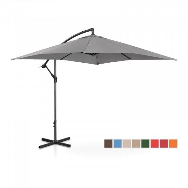 B-termék Lámpa formájú napernyő - sötétszürke - szögletes - 250 x 250 cm - dönthető
