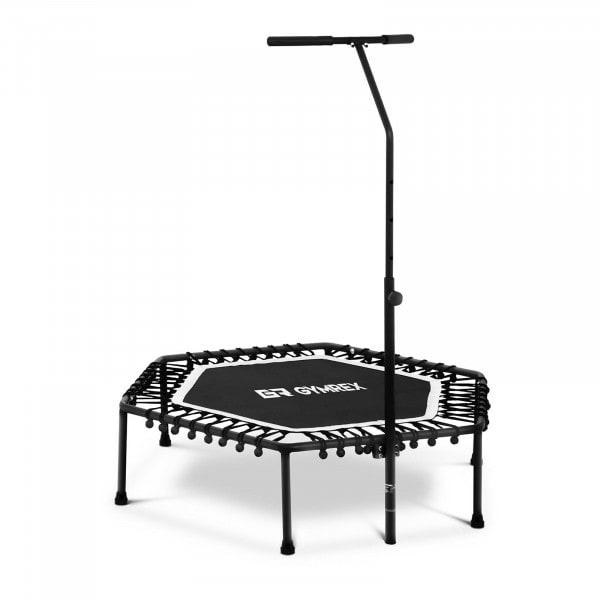 B-termék Fitnesz trambulin - kapaszkodóval - fehér