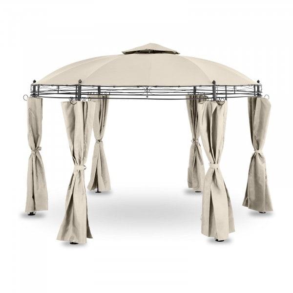 B-termék Kerti pavilon - kerek - 3,5 m - 180 g / m² - bézs