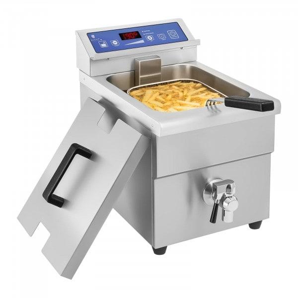 Indukciós fritőz – 1 x 10 literes - 60 - 190 °C