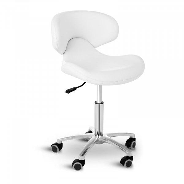B-termék Gurulós szék háttámlával ANDRIA WHITE