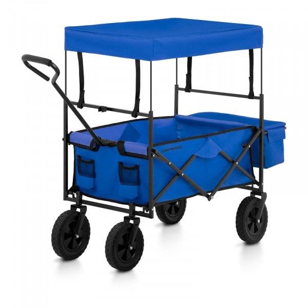 B-termék Összecsukható kerti kocsi tetővel - kék