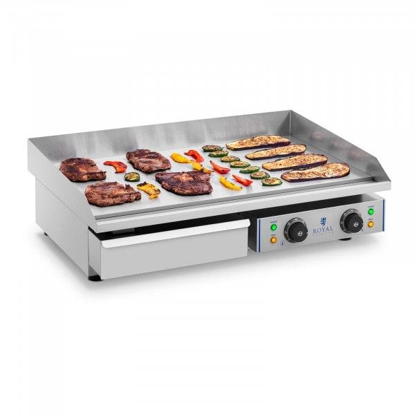 Elektromos grill lap - 72,5 cm - sima - 2 x 2,2 kW