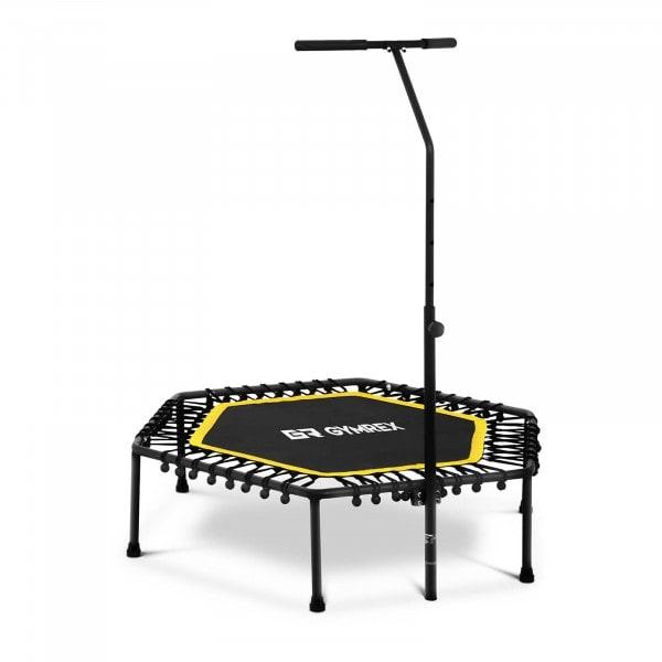 B-termék Fitnesz trambulin - kapaszkodóval - sárga