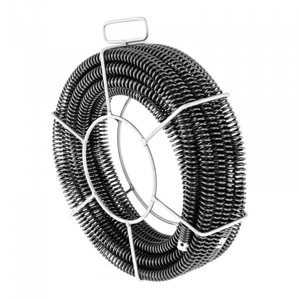 Lefolyótisztitó spirál csomag - 3 x 4,6 m - Ø 22 mm