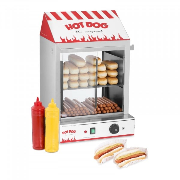 Hot dog gőzölő - 2.000 W