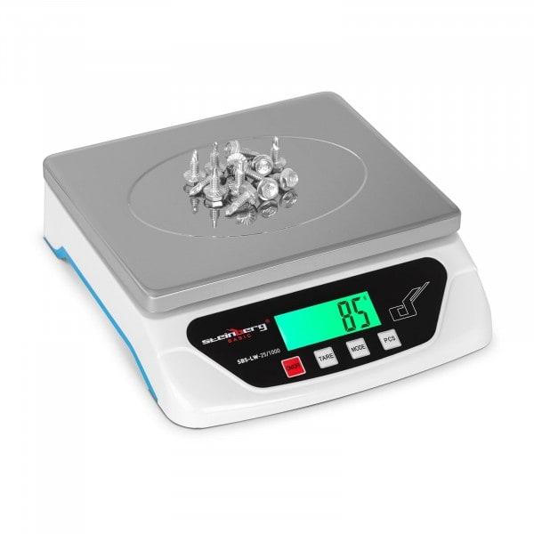 Digitális levélmérleg - 25 kg / 1 g - Basic
