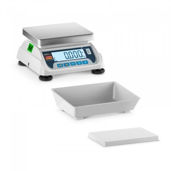 B-termék Asztali mérleg - hitelesített - 3 kg / 1 g - LCD