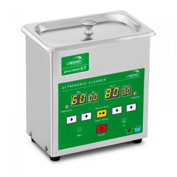 Ultrahangos tisztító - 0.7 liter - Gyors memória